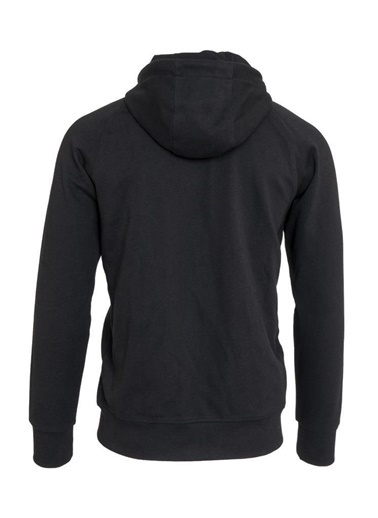 2AS  Enegu Erkek Kapüşonlu Sweatshirt Siyah